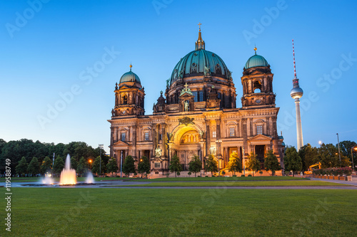 Photo  Berlin Cathedral, Berlin ,Germany