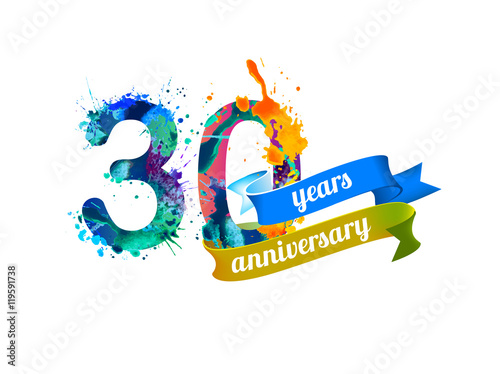 Poster  50 (thirty) years anniversary
