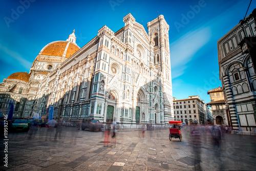 Fotografie, Obraz  Famous Santa Maria del Fiore cathedral church in Florence