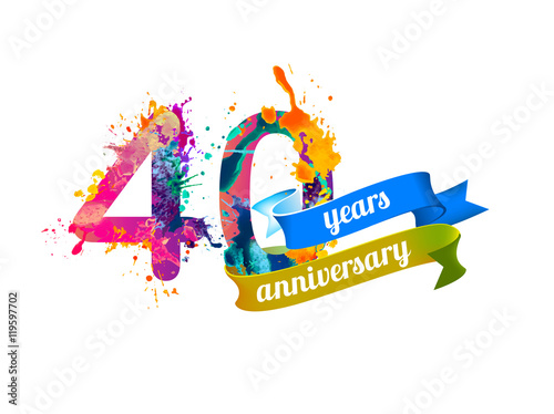 Fotografia  40 (forty) years anniversary