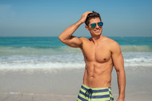 Enjoying Beach Day