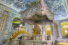 Interior Of Tomb Of Khai Dinh