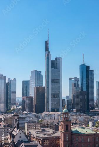 Canvas Prints Kuala Lumpur Financial district in Frankfurt