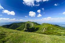 Mala Fatra Mountain, Slovakia, Europe - View On Ridge Of Mountain In National Park Mala Fatra