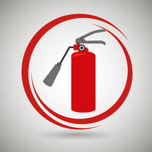 Extiguisher Fire Spray Vector ...