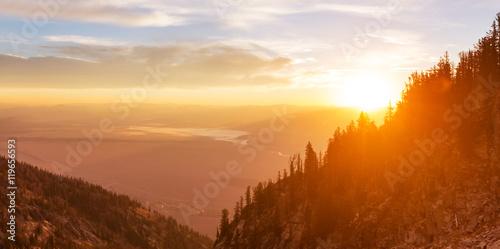 Valokuvatapetti Grand Teton
