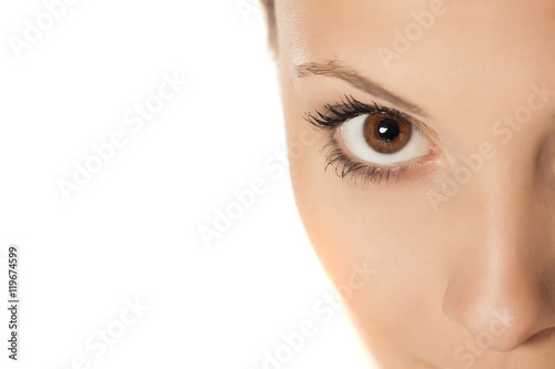 Fototapety, obrazy: Close up of a beautiful female eye