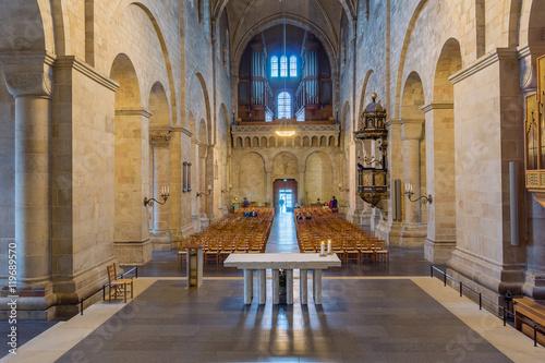 Valokuva  Interior of Lund cathedral, Sweden