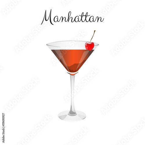 Manhattan Alcohol Cocktail Buy This Stock Illustration And Explore Similar Illustrations At Adobe Stock Adobe Stock