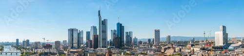 Garden Poster Milan Frankfurt am Main Skyline