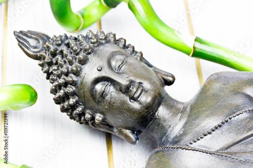 In de dag Macrofotografie Buddha