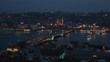 Istanbul panorama at night