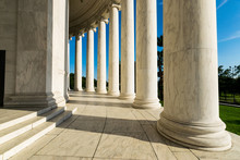 Documentary Image Of The Jefferson Memorial In District Of Colum