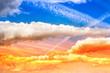 Moody Sky by the sun