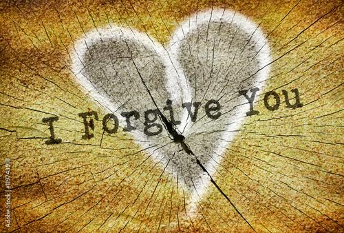 Fotografía  Text I Forgive You