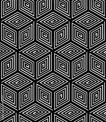 niekonczacy-sie-monochromatyczny-wzor-symetryczny-projekt-graficzny-geometryczny