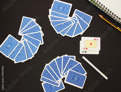 Playing Cards, card suit плакат