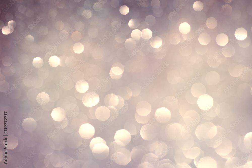Fototapety, obrazy: abstract bokeh holiday background, shining lights