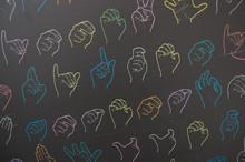 Dynamic Symbols Of Sign Language