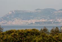 La Costa Francese Con Montecarlo E Mentone Visti Da Bordighera