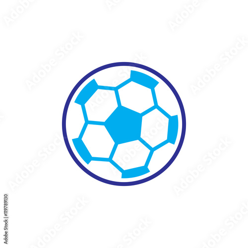 ikona piłki nożnej wektor, twarda ilustracje, logo, ikona, na białym tle na białym tle