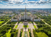 Aerial View Of Moscow State Un...