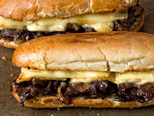 Rustic Philly Cheese Steak San...