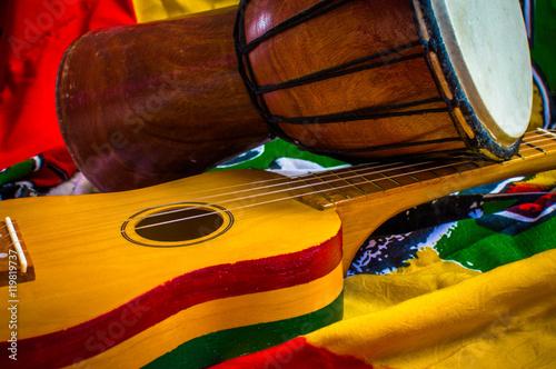 Fotografía reggae background