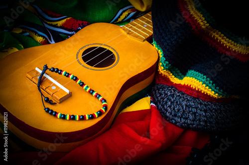 Fotomural reggae background