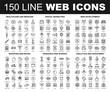 Line Web Icons
