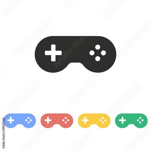 Photographie Game controller - vector icon.