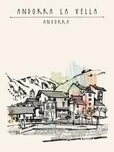 Andorra La Vella, Capital Of A...