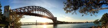 The Hell Gate Bridge Over The ...
