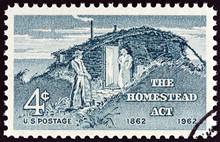 Settlers, Homestead Act (USA 1962)