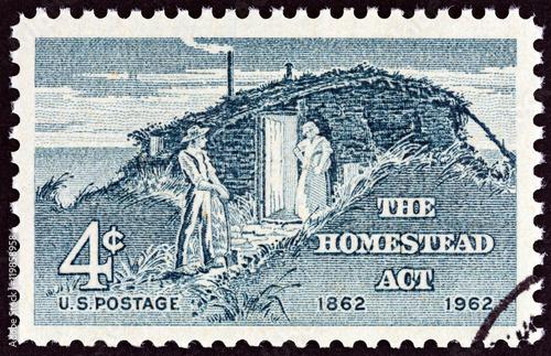 Fotografía  Settlers, Homestead Act (USA 1962)