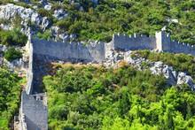 Walls In Ston, Croatia