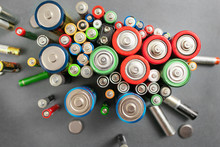 Selection Of Different Batteri...
