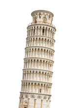 The Leaning Tower Of Pisa Isol...