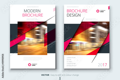 Cover design for annual report, catalog, magazine, brochure or booklet Poster