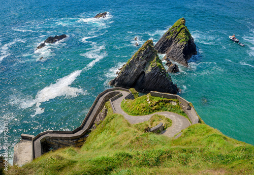 Fotografie, Obraz  Dunquin Harbor, County Kerry, Ireland