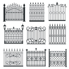 Metal Iron Gates, Grilles, Fen...