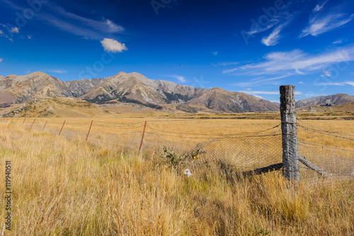 Photo  New Zealand Southern Alps South Island - Südinsel Neuseeland Alpen