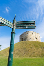 Cliffords Tower In York, Engla...