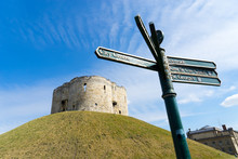 Cliffords Tower In York, England UK