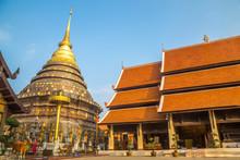 Wat Phra That Lampang Luang. Thailand