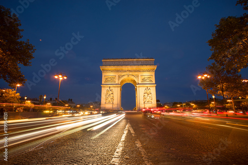 Papiers peints Paris Triumph, arch in Paris, France