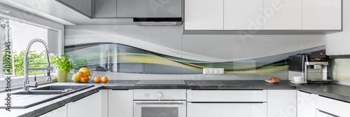 Fototapeta Stylish and modern kitchen obraz