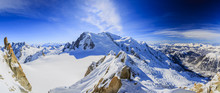 Mont Blanc And Chamonix, View ...