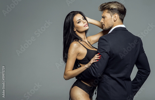sexi woman and man
