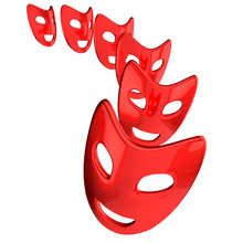 Red Mask Smile
